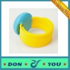Silicone Slap Wrist Watch In Fashion Colors