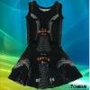 Customized netball uniforms girls dress girls bodysuit