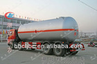 Chinese biggest lpg truck (35.5cbm)