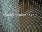 Hexagonal wire mesh for fencing building