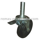 Scaffold Caster wheel with brake SC0811