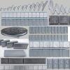 5G*12 steel adhesive wheel weights