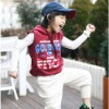 newest sleeveless hooded sweatshirt for boys