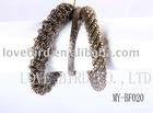fashion cuff metal antique bangle set