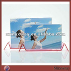 Elegant Ingenious Magnetic Counter Acrylic/Plexiglass Picture/Photo/Card Holder/Frame/Stand