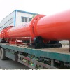 Rotary drum drier for mineral processing ore drying equipment