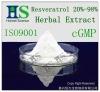 Herbal extract Resveratrol 20%-98%