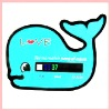 Bath Thermometer Card ,colorchanging thermometer