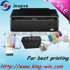 Hot sale L200 genuine printer pre-installed with ciss for Epson all-in-one NX125/SX125 printer
