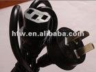 Hot sell ac power cord 3 pin plug