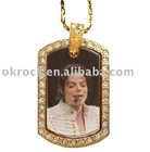 michael jackson dog tag michael jackson memorial gift ornament