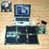 Portable solar power system (GF-S-N201) (solar power system/portable solar generator)