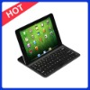 Factory Price Aluminum Bluetooth Wireless Keyboard for Ipad MINI with Germany, Italy, Russian, Mutifunction Languages