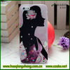 hot girl design mobile phone case with diamond for iphone5 5g