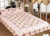 100% cotton pillow case and comforter patchwork/bedsheet