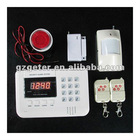 99 wireless zones LED display home alarm system
