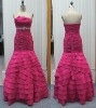 New style strapless ball gown, evening dress