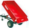 Hydraulic tipping trailer 1.5 ton