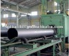 Through type shot blasting machinefor steel-work