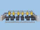 bridge type multi-heads stone polishing machine