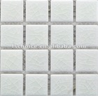 white crack series ceramic tile mosaic for fountain cheap price in foshan plant 48x48