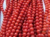 100% genuine red coral beads
