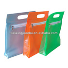 Dongguan Factory plastic zipper cosmetic bag promotion bag for bottles gifts case