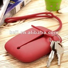 Promotional /Fashion silicone keychains bag