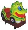 Happy Dinosaur kid ride game,kids plastic games