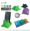 Plastic cell phone stand