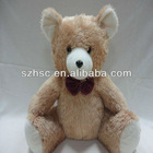 Brown teddy bear soft lovely plush teddy bear