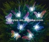 10Led solar decoration light with fiber butterfly