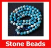 Fashion Nature Fake Blue Stone Beads in Bulk for DIY Jewelry
