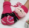 Bear Doll Cute Cartoon Winter Gloves and Mittens