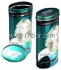 Oval Gift Tin Box / with Full Color Print and Embossing