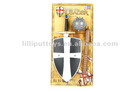 Tai Xing Factory Medieval Crusaders Weapon Toy Set Sword Shield And Bola