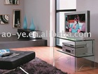 Glass TV Stand with DVD shelf T032