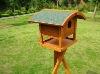 WOODEN BIRD FEEDER BIRD HOUSE