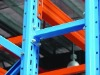 Row spacer for pallet rack
