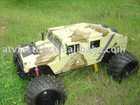 1:5 Gas rc truck/hummer