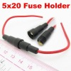 5x20mm AGC Fuse Holder In-line screw type with wire