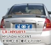 Fibre glass rear spoiler for Hyundai ACCENT C