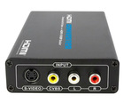 Composite video and S-video to HDMI Scaler