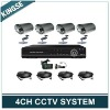 H.264 4CH DVR Combo CCTV Camera KIT