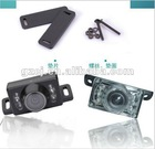 ccd 12V car video camera with led light for cars
