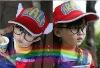 Hotsale 2012 new style funny kids Arale hats