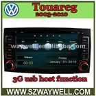 2003-2010 VW Touareg gps navigation player with 3G usb host function!