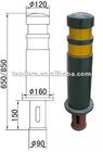 Iron guardrail