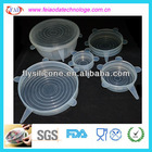 Food Grade Creative Household Silicone Cover Transparent