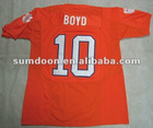 Clemson Tigers #10 Tajh Boyd orange ncaa football jerseys size 48-56 mix order free shipping